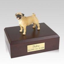 Pug Standing Large  Dog Urn