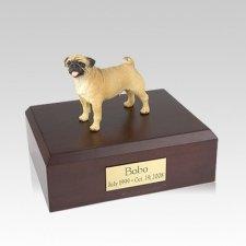 Pug Standing Medium Dog Urn