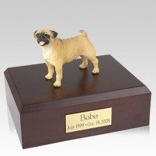 Pug Standing X Large Dog Urn