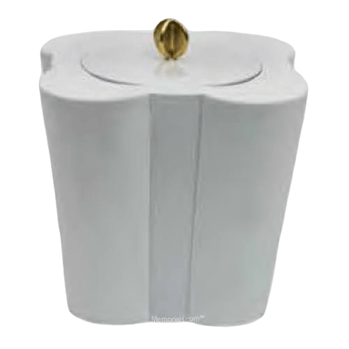 Purity Floral Porcelain Urn