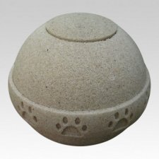 Purity Sand Biodegradable Pet Urn