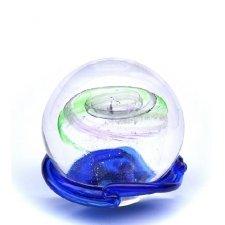 Purple & Green Galaxy Medium Memory Glass Keepsake