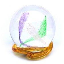 Purple & Green Swirl Memory Glass Keepsakes