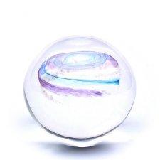 Purple & Sky Blues Galaxy Memory Glass Keepsakes