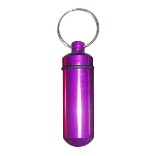 Purple Cremation Keychain