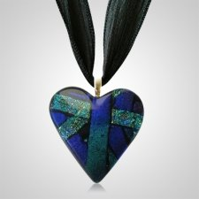 Purple Heart Ashes Pendants