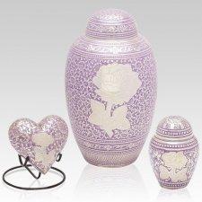 Purple Rose Cremation Urns