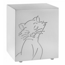 Purring Frost Cat Urn