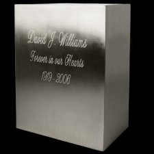 Quadrilateral Cremation Urn