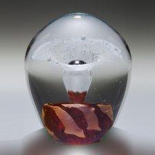 Quasar Geyser Glass Cremation Keepsake