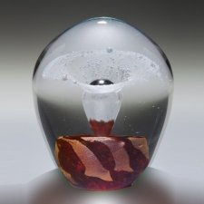 Quasar Geyser Glass Cremation Keepsakes