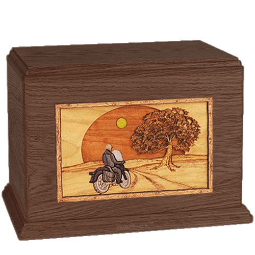 Riding Home Walnut Companion Urn