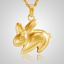 Rabbit Cremation Jewelry II