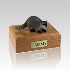 Raccoon Medium Cremation Urn