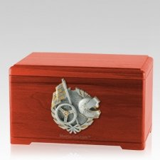 Racing Fan Cherry Cremation Urn