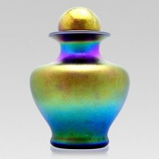Radiant Glass Cremation Urns