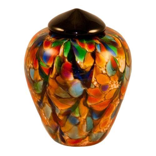 Radiant Glass Pet Cremation Urn