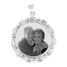 Radiant Photo Pendants