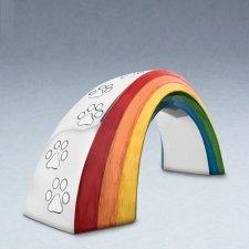 Rainbow Bridge Small Metal Pet Urn