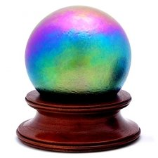 Rainbow Glass Pet Urn