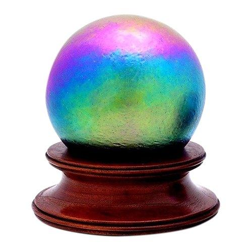 Rainbow Glass Pet Urn