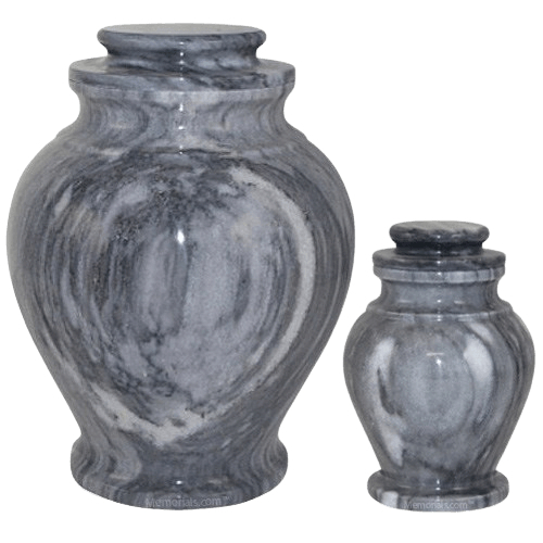 Rainy Marble Cremation Urns