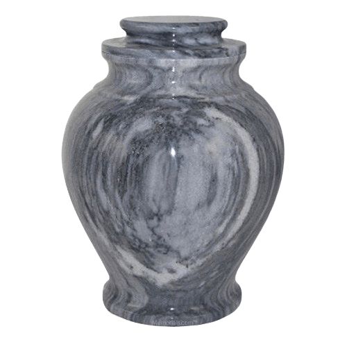 Rainy Marble Cremation Urn
