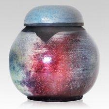 Raku Ireland Ceramic Urn