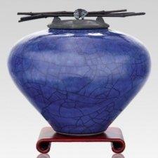 Raku Lapis Cremation Urns