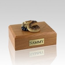 Rattlesnake Medium Cremation Urn