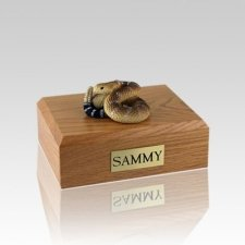 Rattlesnake Small Cremation Urn