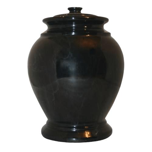 Raven Marble Cremation Urn