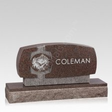 Ravine Companion Granite Headstone