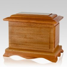 Recuerdo Wood Cremation Urn