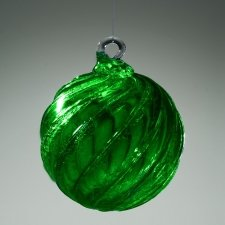 Recycled Glass Cremation Ornament