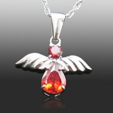 Red Angel Memorial Jewelry