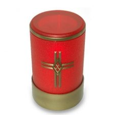 Red Cross Small Memorial Candle