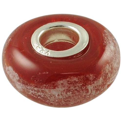Red Elegance Cremation Ash Bead