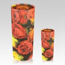 Roses Scattering Biodegradable Urns