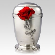 Red Rose Companion Cremation Urn
