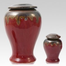 Red Sea Ceramic Cremation Urns