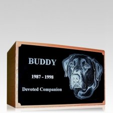 Redwood Photo Pet Cremation Urns