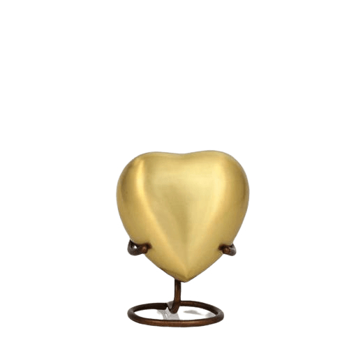 Reflection Heart Cremation Urn