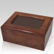 Reflection Photo Pet Cremation Urn - Small