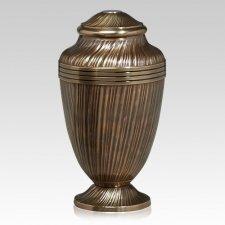 Regal Gold Metal Cremation Urn