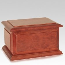 Regal Wood Pet Cremation Urn