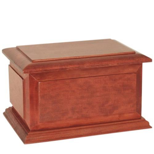 Regal Wood Pet Cremation Urn