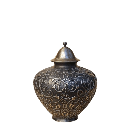 Regency Bronze Small Cremation Urn