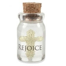 Rejoice Bottle Keepsake Charms