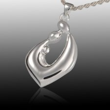 Relationship Teardrop Cremation Pendant III